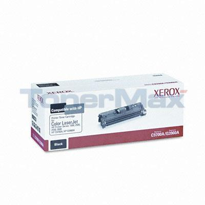 XEROX HP CLJ 1500 TONER CART BLACK C9700A/Q3960A